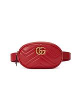 GUCCI | стеганая поясная сумка 'GG Marmont' | Clouty