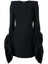 SAINT LAURENT   структурированное приталенное платье  Saint Laurent   Clouty
