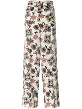 VALENTINO | брюки-палаццо 'Popflowers' с завышенной талией Valentino | Clouty