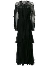 Alberta Ferretti | платье с кружевом и оборками Alberta Ferretti | Clouty