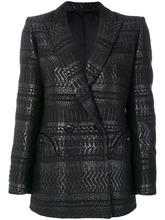 Blaze Milano | двубортный жаккардовый пиджак  Blaze Milano | Clouty