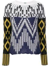 KENZO | трикотажный свитер с миксом графических принтов Kenzo | Clouty