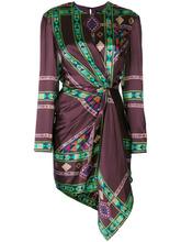 Etro | платье со сборками с принтом Etro | Clouty