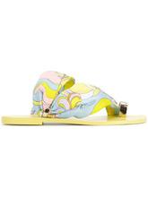 Emilio Pucci | сандалии  с кольцом на пальце Emilio Pucci | Clouty