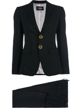 DSQUARED2 | button-embellished suit | Clouty
