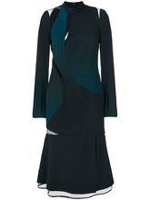 Versace   платье дизайна колор-блок Versace   Clouty