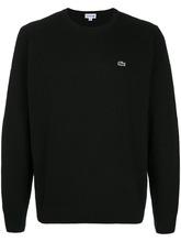 Lacoste | джемпер с заплаткой с логотипом Lacoste | Clouty