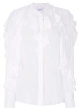 GIVENCHY | прозрачная блузка с оборками Givenchy | Clouty