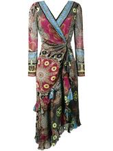 Etro | платье с V-образным вырезом Etro | Clouty