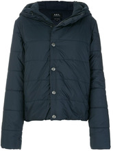 A.P.C. | классическая стеганая куртка A.P.C. | Clouty