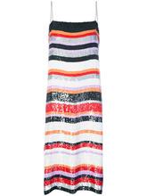 Jeffrey Dodd | полосатое платье с пайетками Jeffrey Dodd | Clouty