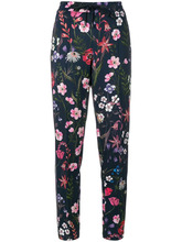 Cambio | брюки с полосками и цветочным принтом Cambio | Clouty