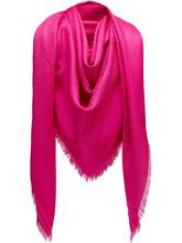 FENDI   шарф с монограммным принтом   Clouty