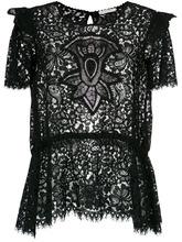 Martha Medeiros | Nilda lace blouse Martha Medeiros | Clouty