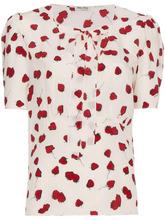 MIU MIU   блузка с завязкой на бант Miu Miu   Clouty