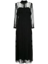 Alberta Ferretti | платье с прозрачными панелями Alberta Ferretti | Clouty