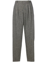 Chloé | зауженные брюки овального кроя | Clouty