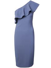 Likely   облегающее платье на одно плечо с оборками Likely   Clouty