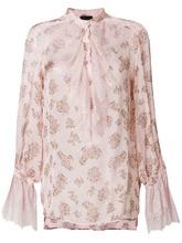 Ermanno Ermanno Scervino   блузка с цветочным принтом Ermanno Ermanno   Clouty