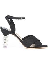 SOPHIA WEBSTER | блестящие босоножки на каблуке  Sophia Webster | Clouty