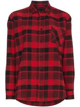 adaptation   рубашка в клетку с длинными рукавами на пуговицах Adaptation   Clouty