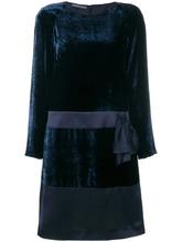 Alberta Ferretti | бархатное платье с бантом | Clouty