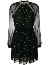 Michael Michael Kors | декорированное платье с прозрачными рукавами Michael Michael Kors | Clouty