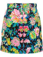 MSGM | мини-юбка с цветочным принтом | Clouty