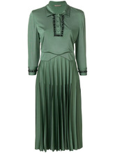 Bottega Veneta | плиссированное декорированное платье  Bottega Veneta | Clouty