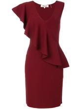 Diane Von Furstenberg | платье с асимметричными оборками Dvf Diane Von Furstenberg | Clouty