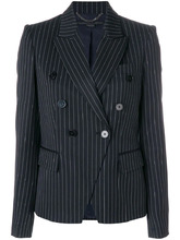 Stella McCartney | двубортный пиджак в полоску Stella McCartney | Clouty