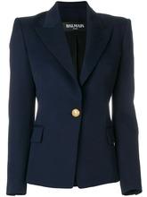 BALMAIN   пиджак с декоративной пуговицей Balmain   Clouty
