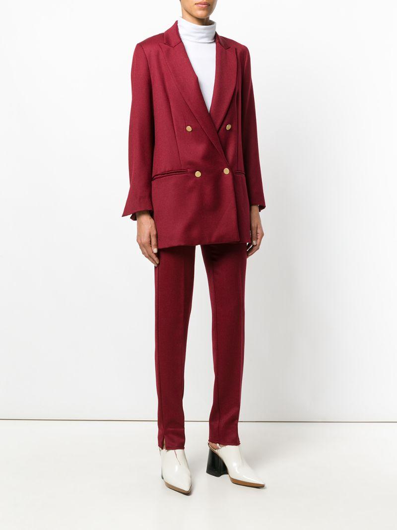 Grifoni | Красный костюм мешковатого кроя  Mauro Grifoni | Clouty