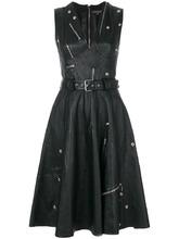 Alexander McQueen   платье с молниями Alexander McQueen   Clouty