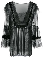 Alberta Ferretti | кружевная блузка Alberta Ferretti | Clouty