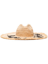 MIU MIU | соломенная шляпа с вышивкой Miu Miu | Clouty