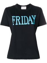 Alberta Ferretti | футболка с принтом 'Friday' Alberta Ferretti | Clouty