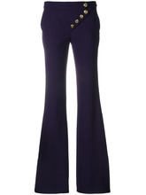 Chloé | асимметричные расклешенные брюки Chloe | Clouty