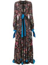 Etro | длинное платье с глубоким вырезом Etro | Clouty
