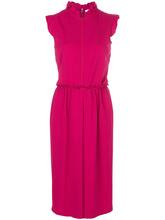 GIVENCHY | платье шифт миди с оборками | Clouty