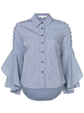 Jonathan Simkhai | рубашка с оборками на рукавах Jonathan Simkhai | Clouty
