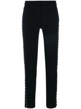 MOSCHINO | брюки декорированные заклепками Moschino | Clouty