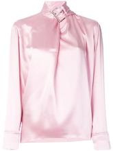MARQUES'ALMEIDA | атласная блузка с пряжкой на горловине Marques'almeida | Clouty