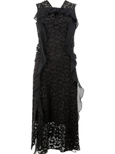CARVEN   кружевное платье без рукавов Carven   Clouty