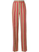 Etro | полосатые брюки с завышенной талией Etro | Clouty