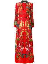 Etro | платье с поясом с цветочным узором Etro | Clouty