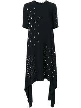 Stella McCartney | асимметричное платье с жемчугом  Stella McCartney | Clouty