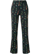 Etro | классические брюки с принтом акробатов Etro | Clouty