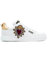Dolce & Gabbana | кроссовки с аппликациями Dolce & Gabbana | Clouty