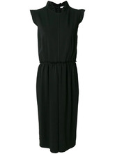 GIVENCHY   платье с оборочным воротником Givenchy   Clouty